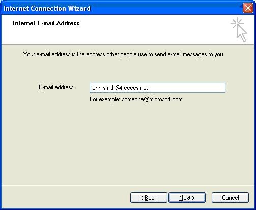 Outlook Express Setup 4